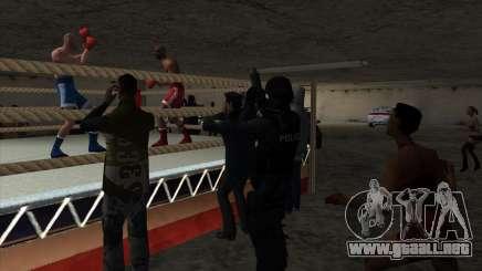 Ilegal del torneo de Boxeo de V2.0 para GTA San Andreas