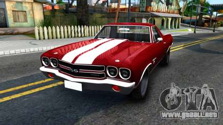 Chevrolet El Camino SS para GTA San Andreas