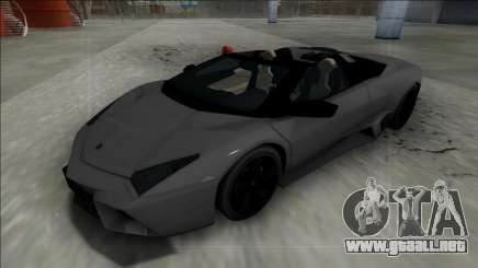 2009 Lamborghini Reventon Roadster FBI para GTA San Andreas