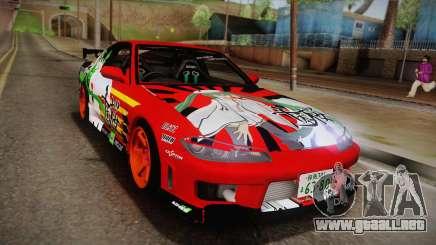 Nissan 180SX Facelift Silvia S15 Hatsune Miku para GTA San Andreas