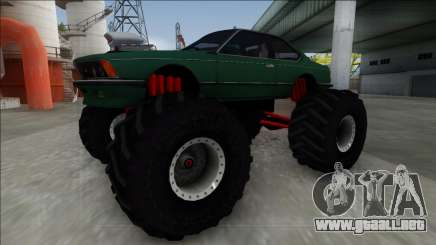 1984 BMW M6 E24 Monster Truck para GTA San Andreas