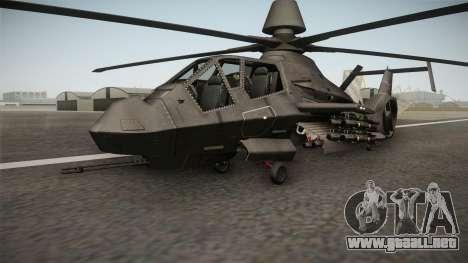 RAH-66 Comanche with Pods para la visión correcta GTA San Andreas