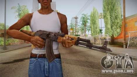 Survarium - AKMN para GTA San Andreas tercera pantalla