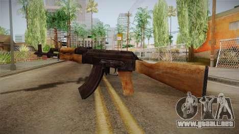 Survarium - AKMN para GTA San Andreas segunda pantalla