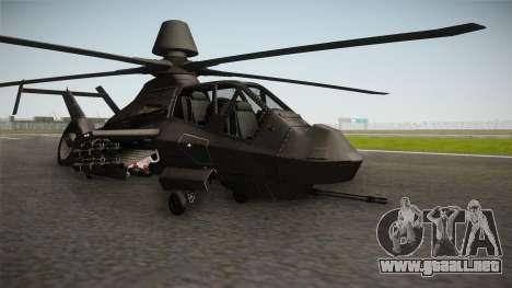 RAH-66 Comanche with Pods para GTA San Andreas
