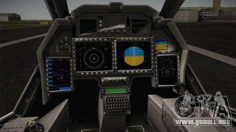 RAH-66 Comanche with Pods para visión interna GTA San Andreas