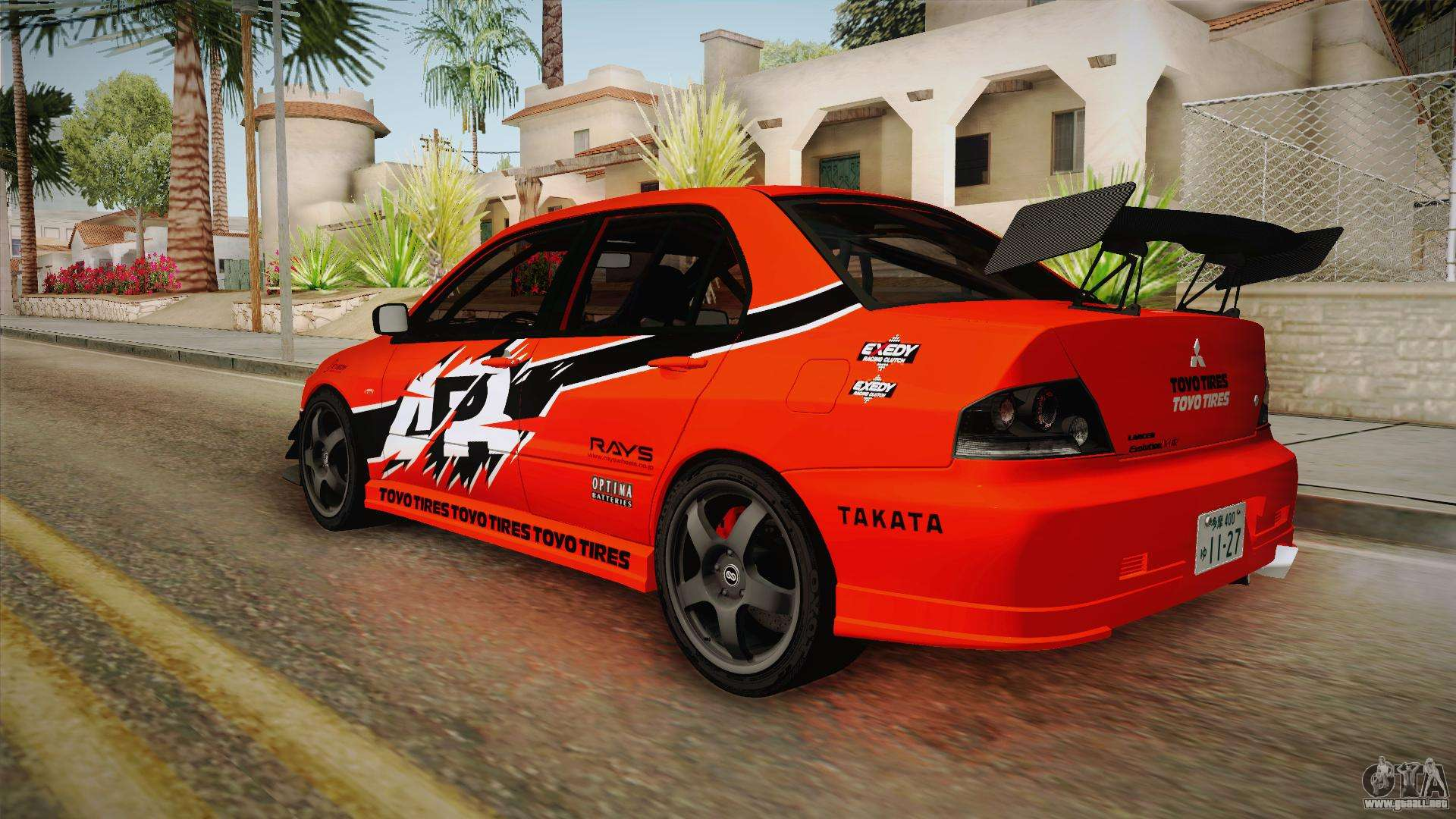 2006 Mitsubishi Lancer Evolution Mr >> Mitsubishi Lancer Evolution IX MR Tokyo Drift para GTA San ...