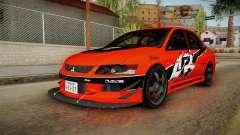 Mitsubishi Lancer Evolution IX MR Tokyo Drift para GTA San Andreas