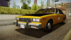 Chevrolet Caprice Taxi 1986 IVF para GTA San Andreas