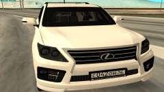 Lexus LX570 AG Armored para GTA San Andreas