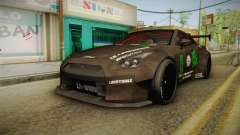 Nissan GT-R LB Walk Team Dice para GTA San Andreas