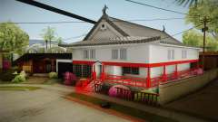 Japanese Castle CJ House para GTA San Andreas