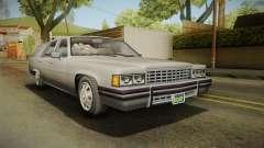 GTA 5 Albany Emperor Hearse para GTA San Andreas