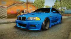 BMW M3 E46 Liberty Walk para GTA San Andreas