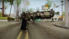 Desert Eagle Black Shark Camo para GTA San Andreas