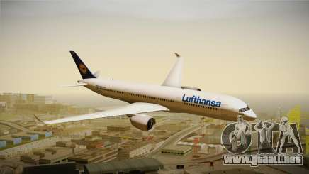 Airbus A350 Lufthansa para GTA San Andreas
