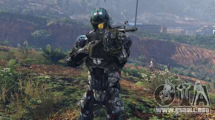 Crysis 2 Nanosuit Re-Texture N7 para GTA 5