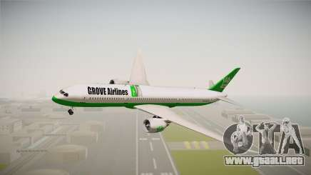 Boeing 787 Grove Airlines para GTA San Andreas