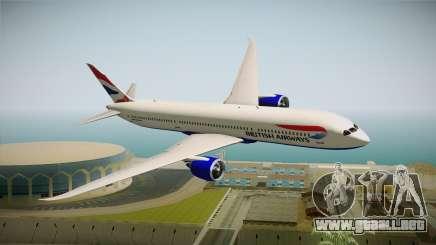 Boeing 787 British Airways para GTA San Andreas