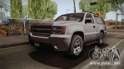GTA 5 Declasse Granger 2-doors para GTA San Andreas