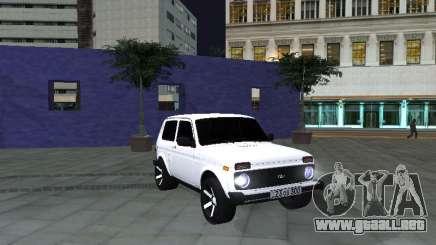 Vaz 2121 Stepanavan-Armenia para GTA San Andreas
