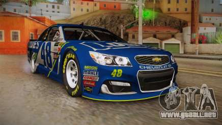 Chevrolet SS Nascar 48 Lowes 2017 para GTA San Andreas