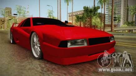 Cheetah Bielakworkshop para GTA San Andreas