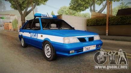 Daewoo-FSO Polonez Caro Plus Policja 1.6 GLi para GTA San Andreas