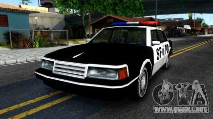 Nebula Police para GTA San Andreas