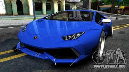 Lamborghini Huracan LB Performance para GTA San Andreas
