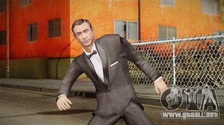 007 Sean Connery Cibbert Black Tuxedo para GTA San Andreas
