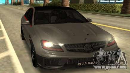 Brabus Bullit Coupe 800 para GTA San Andreas