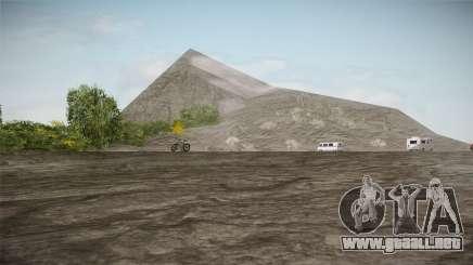 Mount Chiliad Retexture para GTA San Andreas