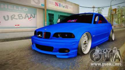 BMW 3 Series E46 Cabrio King para GTA San Andreas