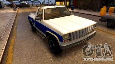 Declasse Rancher Sportside para GTA 4