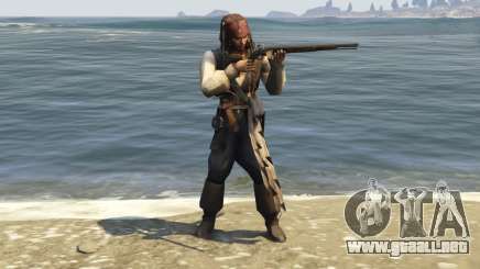 Captain Jack Sparrow 1.0 para GTA 5