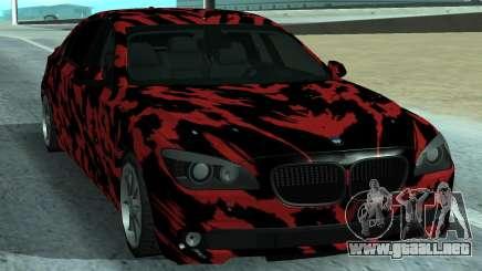 BMW 7-er 2016 para GTA San Andreas