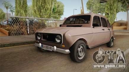 Renault 4 Yugoslav para GTA San Andreas