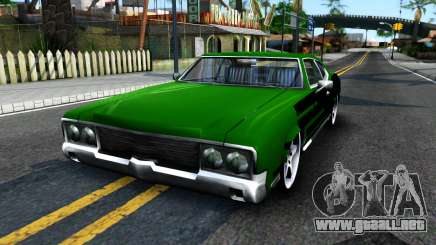 Sabre Drift Green Strips para GTA San Andreas