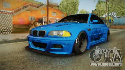 BMW M3 E46 Liberty Walk para GTA San Andreas