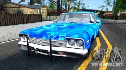Dodge Monaco 1974 Blue Star para GTA San Andreas