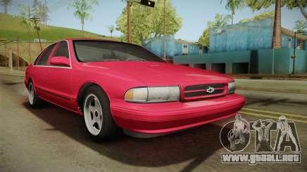Chevrolet Impala SS 1996 para GTA San Andreas