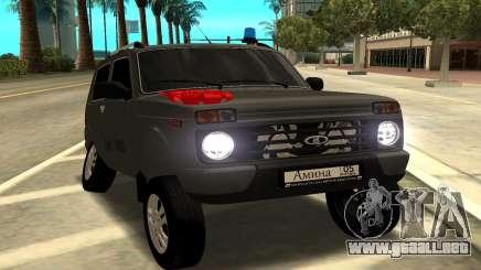 NIVA URBANO para GTA San Andreas