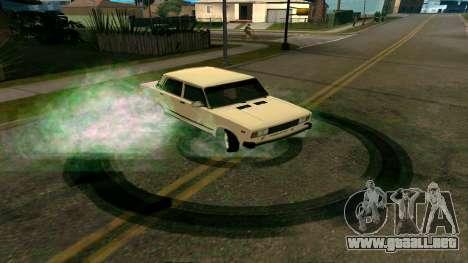 De nuevo las huellas de los neumáticos para GTA San Andreas