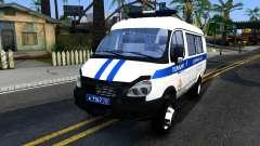 Gazelle 2705 La Policía para GTA San Andreas