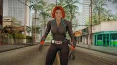 Marvel Heroes - Black Widow Scarlet Johanson para GTA San Andreas