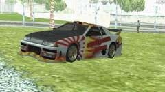NEW PAINT JOB WHITE ELEGY para GTA San Andreas