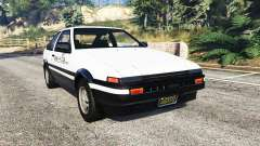 Toyota Sprinter Trueno GT-Apex (AE86) [replace] para GTA 5