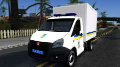 La gacela de la SIGUIENTE Van de Ucrania para GTA San Andreas