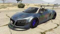 Audi Spyder V10 para GTA 5